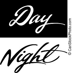 Day and Night words