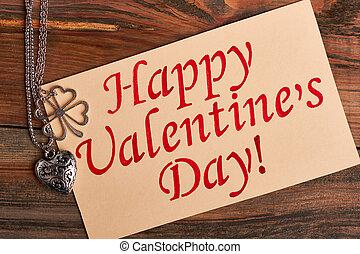 day., carte, valentine