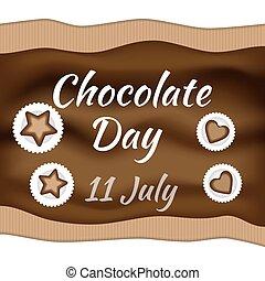 day., csokoládé