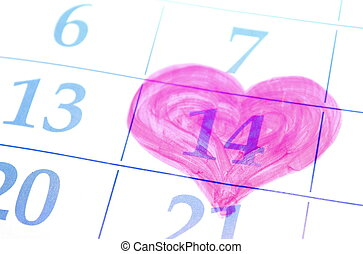 day., date, valentines, calendar.