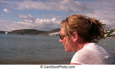 Day deream at the beach