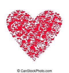 day., hart, muzikalisch, valentine