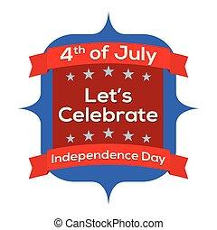day., juli 4, onafhankelijkheid