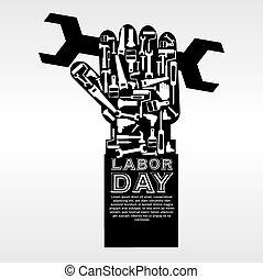 day., main-d'œuvre