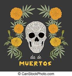 """(day, muertos"""", """"dia, de, los, dead), carte"""