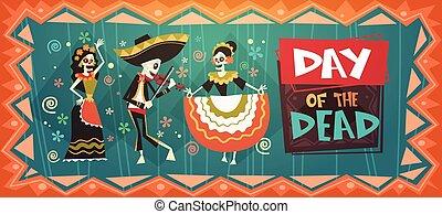 Day Of Dead Traditional Mexican Halloween Dia De Los Muertos...