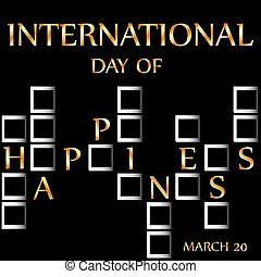 Day of Happiness- Commemorative Day