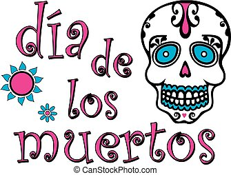Day of the Dead Graphic Colorful