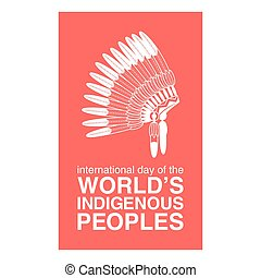 Day of Worlds Indigenous Peoples poster