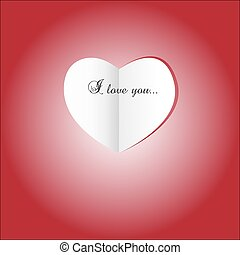 day., papier, heart., rue, valentine