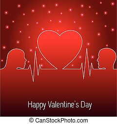 day., serce, święto, card., list miłosny