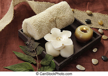 Day spa setting