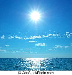 day., spiaggia, costa