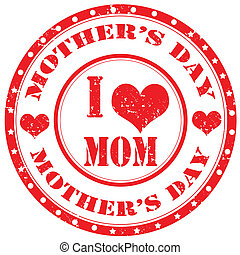 day-stamp, mãe