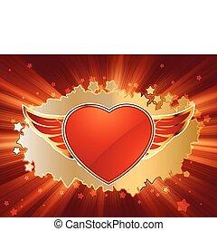 day., szív, 8, eps, valentine's