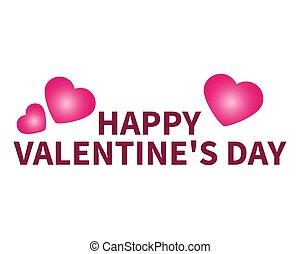 day., valentine, gratulacje, serce, s