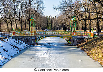 Small Chinise Bridge in Alexander Park