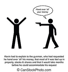 Daylight Robbery - Kevin over complicated a simple cash ...
