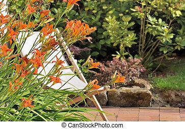 daylily, terrazzo