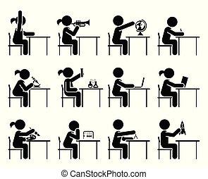 days., école