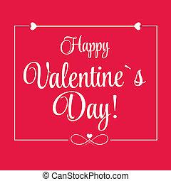 day's, 挨拶, st., ベクトル, バレンタインカード