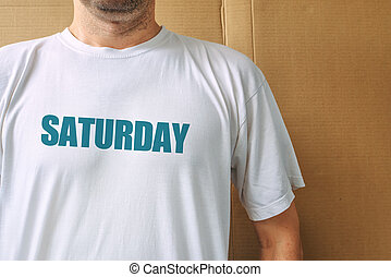 Days of the week - saturday