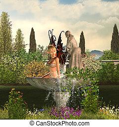 Daytime Garden Fairy