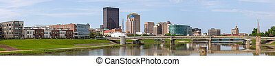 Dayton City Scape - Dayton, City in the state of Ohio, ...