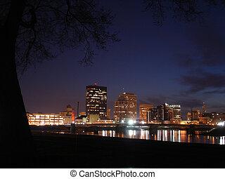 Dayton Night Sky