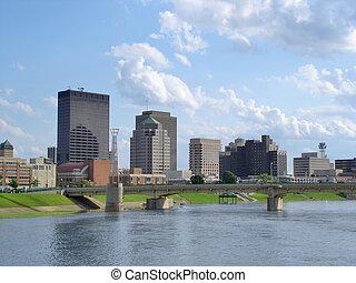 Dayton Skyline - Dayton, Ohio skyline during the day.
