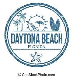 Daytona Beach sign or stamp