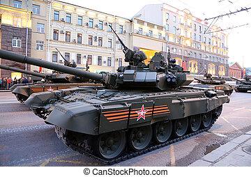 day(wwii), weapons., dísz, 2015).celebration, (on, kreml, ...