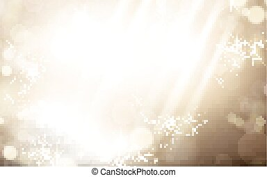 bright light bokeh elements, can be used as background, 3d illustration