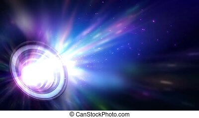 Dazzling Projector Light Loop