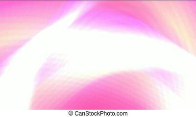 dazzling white laser ray