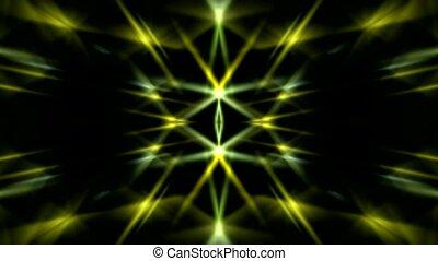 dazzling yellow light,ray laser