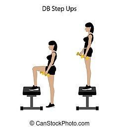 db, ステップ, ∥上げる∥, 練習