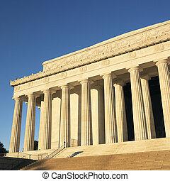 dc., 林肯紀念館, 華盛頓