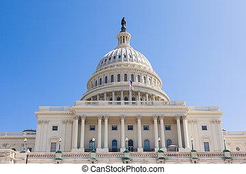 dc, 건물, 국회 의사당, 우리, 워싱톤