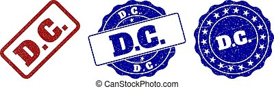 D.C. Scratched Stamp Seals