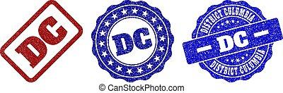 DC Scratched Stamp Seals