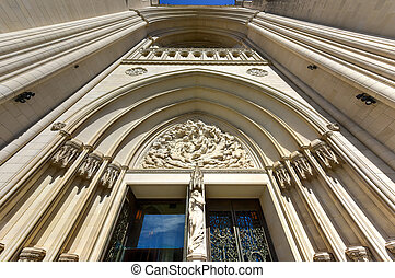 dc, uni, national, washington, etats, cathédrale