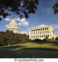 dc., washington capitool, gebouw