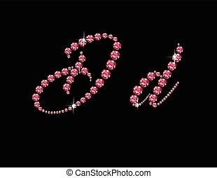 Dd Ruby Script Jeweled Font