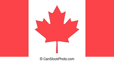 DDP-Canada-01RF - The official flag of Canada in both color...