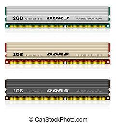 ddr3, komplet, modules, pamięć