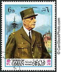 de, 1972:, oman, チャールズ, -, 州, gaulle, (1890-1970), ショー