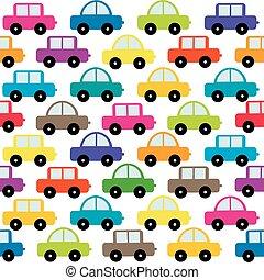 de auto's van het stuk speelgoed, achtergrond