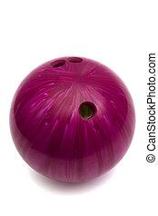 de bal van het spel, bowling