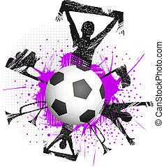 de bal van het spel